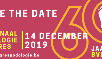 Nationaal podologiecongres op 14 december 2019