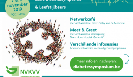 SAVE THE DATE: NVKVV - 22ste diabetessymposium.
