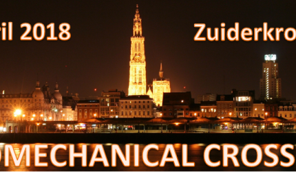 Zaterdag 21 april 2018: BORGinsole Biomechanical Cross-Links 2018